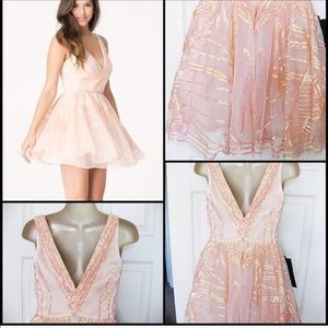 Bebe babydoll chemise dress Sz Small (s)